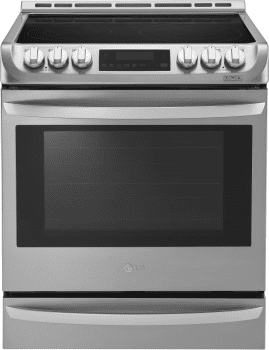 "LG LSE4613ST - 30"" Slide-in Electric Range with 6.3 cu. ft. Capacity"
