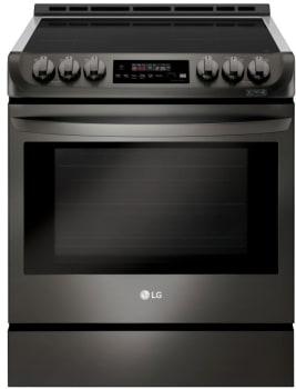 LG LSE4616BD - Black Stainless Steel