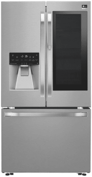 LG Studio LSFXC2496S - Counter Depth French Door Refrigerator with InstaView Window and Door-in-Door System from LG - Stainless Steel Front