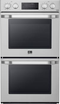 "LG Studio LSWD306ST - 30"" Double Wall Oven with 9.4 Total cu. ft. Convection Capacity"