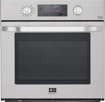"LG Studio LSWS306ST - 30"" Single Wall Oven with 4.7 cu. ft. Convection Capacity"