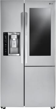 LG LSXC22396S - LG Side-by-Side Refrigerator with InstaView Window and Door-in-Door
