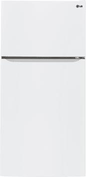 LG LTCS24223W - 33 Inch Top-Mount LG Refrigerator