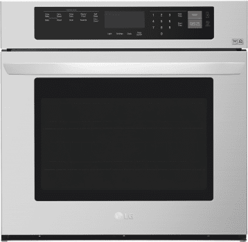 LG LWS3063ST - LG's 30 Inch Electric Wall Oven with NFC Tag On Technology