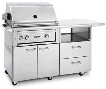 Lynx Professional Grill Series L30ASRMNG - 30 Inch Grill on Mobile Kitchen Cart