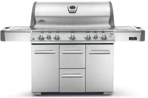 Napoleon LEX Series LEX730RSBINSS - Mirage 730 Gas Grill with Infrared Burners and Side Burner