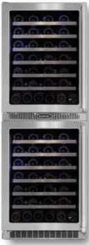Marvel Professional Series MPRO66WCMBSGLL - Dual Zone Double Wine Cellar