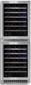 Marvel Professional Series MPRO66WCMBSGLR - Dual Zone Double Wine Cellar