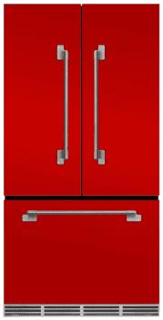 AGA Elise MELFDR23SCR - Marvel Elise Series Refrigerator in Scarlet