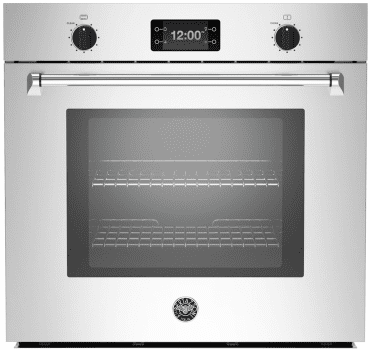 Bertazzoni Master Series MASFS30XT - Bertazzoni Master Series Single Convection Wall Oven with Assistant