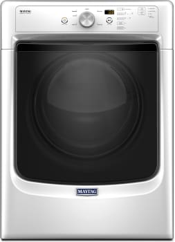 Maytag MED3500FW - Maytag Large Capacity Dryer with Wrinkle Prevent Option and PowerDry System