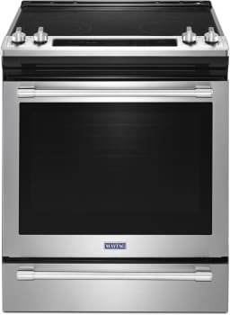 Maytag MES8800FZ - 30 Inch Slide-In Electric Range from Maytag