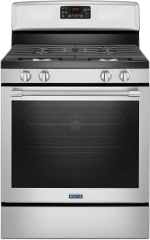 Maytag Heritage Series MGR8650FZ - Gas Range in Fingerprint Resistant Stainless Steel from Maytag