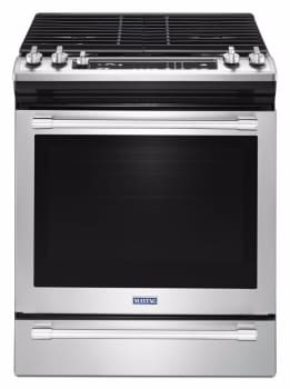 Maytag MGS8800FZ - 30 Inch Slide-In Gas Range from Maytag