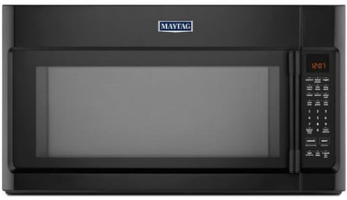 Maytag Heritage Series Mmv5219fb Over The Range Microwave With Black Finish