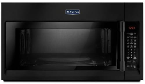 Maytag MMV6190FB - Over-the-Range Microwave from Maytag with Black Finish