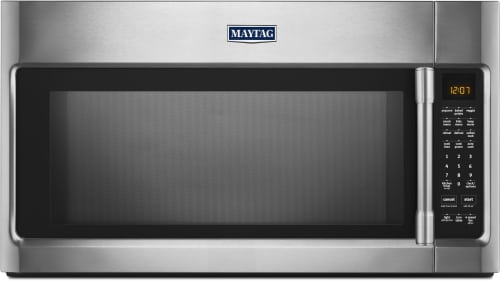 Maytag Heritage Series MMV5219FZ - Over-the-Range Microwave with Fingerprint Resistant Stainless Steel Finish