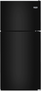 Maytag MRT118FFF - Top-Freezer Refrigerator in Black from Maytag
