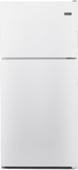 Maytag MRT118FFFH - Top Freezer Refrigerator in White from Whirlpool