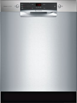 Bosch 300 Series SGE53X55UC - Front View