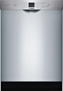 Bosch Ascenta Series SHEM3AY55N - Stainless Steel Front View