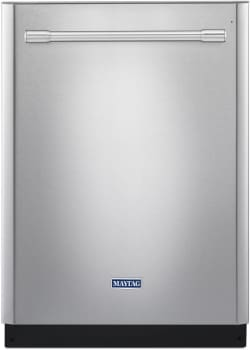 Maytag MDB8979SFZ - Fully Integrated Dishwasher with PowerBlast Cycle, Power Dry, and 4-Blade Stainless Steel Food Chopper