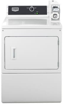 Maytag Commercial Laundry MDE18CSAYW - Front View
