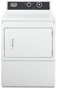Maytag Commercial Laundry MDE18MNAYW - Front View