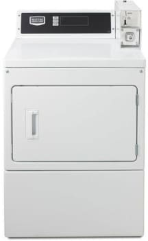 Maytag Commercial Laundry MDE18PDAYW - Front View