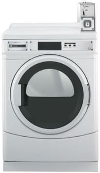 Maytag Commercial Laundry MDE25PDAYW - Front View