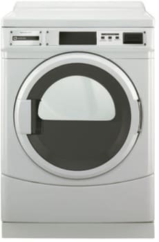 Maytag Commercial Laundry MDE25PRAYW - Front View