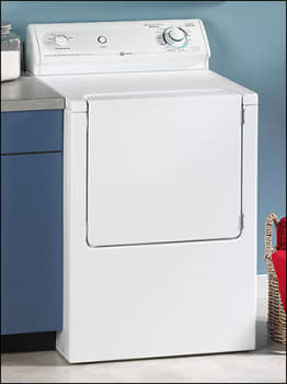 Maytag MDE2600AYW Electric Dryer with 7.15 Cu. Ft. Capacity, 4 Dry