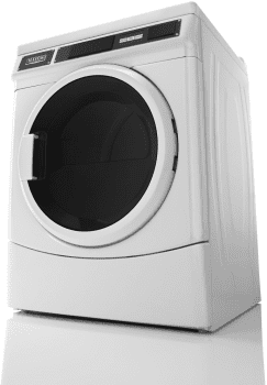 "Maytag Commercial Laundry MDG28PRCWW - 27"" Commercial Card Reader Gas Dryer"