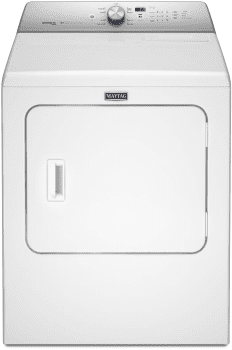 "Maytag MEDB755DW - 29"" Electric Dryer with with 7.0 cu. ft. Capacity"