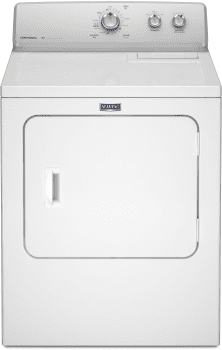 Maytag MEDC215EW - Front View