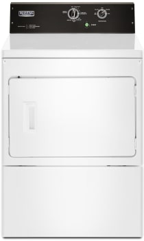 Maytag MEDP575GW - Front View