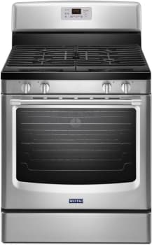 "Maytag Heritage Series MGR8650ES - 30"" Freestanding Gas Range with 5.8 cu. ft. Convection Oven"