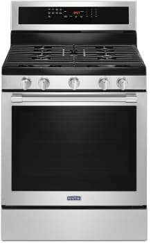 Maytag MGR8800FZ - Maytag 30-Inch Gas Range with 5.8 cu. ft. True Convection Oven and Power Preheat