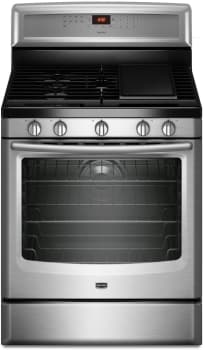 Maytag MGR8880AS - Front View