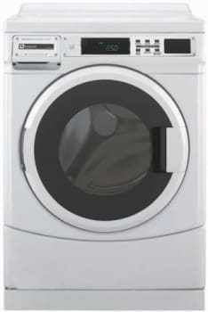 Maytag MHN31PRAWW 27 Inch Commercial Washer with 3 1 cu  ft