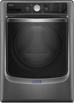 "Maytag MHW5500F - 27"" 4.5 cu. ft. Front Load Washer in Metallic Slate"