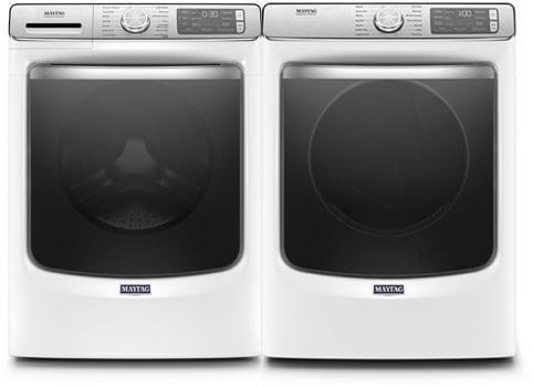 Maytag Mawadrew86301 Side By Side Washer Amp Dryer Set With
