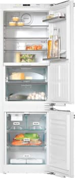Miele PerfectCool Series KFNS37692IDE1 - 22 Inch Fully Integrated Bottom-Freezer