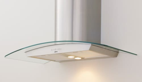 Zephyr Europa Milano Series ZMIM90A - Glass Canopy