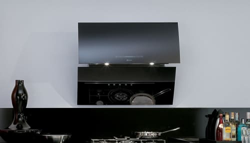 Faber Image Collection MIRR36BK - Mirror Wall Hood
