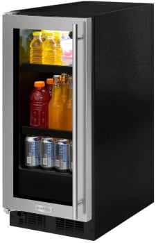 Marvel ML15BCF3LP - Undercounter Beverage Center from Marvel (Shown with Panel and Handle - Not Included)