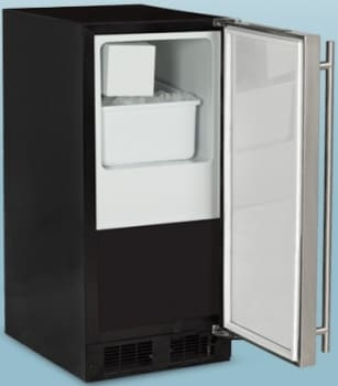 Marvel ML15CRS1LB - Crescent Ice Maker from Marvel - Solid Stainless Steel Door Model Shown Here