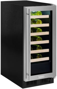 Marvel ML15WSG2RB - 24-Bottle Wine Refrigerator (Stainless Frame Model Pictured Here)