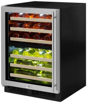 Marvel ML24WDG3LB - Stainless Steel-Framed Glass Door Model Pictured Here
