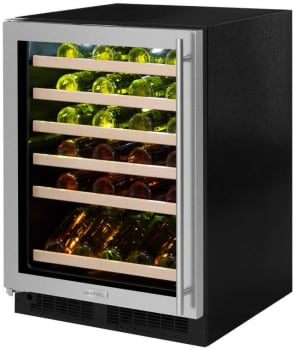 Marvel ML24WSG3LB - Marvel 45-Bottle Wine Refrigerator (Stainless Frame with Glass Door Model Shown Here)